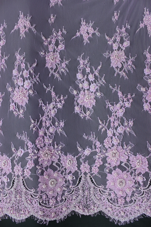 Chantilly Lace Beaded ( CHB01) Lilac