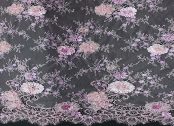Chantilly Lace Beaded ( CHB05) Light Purple